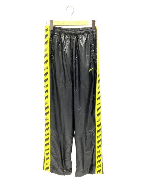 NIKE(ナイキ)NIKE (ナイキ) トレーニングパンツ ブラック×黄緑 サイズ:L 未使用品の古着・服飾アイテム