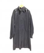 NAUTICA(ノーティカ)の古着「フーデットバルマカーンコート」|ネイビー