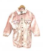 LEVI'S()の古着「トラッカードレス」|ピンク