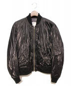 TOGA VIRILIS(トーガ ヴィリリース)の古着「MA-1ジャケット」|ブラック