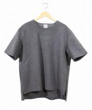 SUNSEA(サンシー)の古着「メルトンTシャツ」|グレー