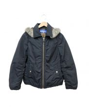 BURBERRY BLUE LABEL(バーバリーブルーレーベル)の古着「中綿ジャケット」|ブラック