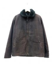 CALEE(キャリー)の古着「デッキジャケット」|ブラック