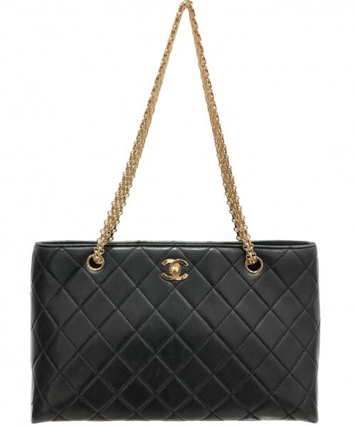 CHANEL(シャネル)CHANEL (シャネル) チェーンショルダーバッグ ブラック サイズ:-の古着・服飾アイテム