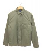 OUTERKNOWN(アウターノーン)の古着「中綿シャツジャケット」|オリーブ
