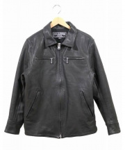 CHALLENGER(チャレンジャー)の古着「レザージャケット」|ブラック