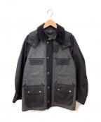 104 MACKINTOSH(104マッキントッシュ)の古着「フィールドジャケット」 ブラック×グレー
