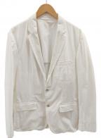 HUGO BOSS(ヒューゴ ボス)の古着「2Bジャケット」|ホワイト
