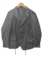 08sircus(ゼロエイトサーカス)の古着「3Bナイロンジャケット」 ブラック