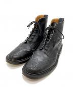 Tricker's(トリッカーズ)の古着「カントリーブーツ」 ブラック