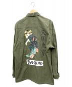 WACKO MARIA(ワコマリア)の古着「ジャングルファティーグジャケット」 オリーブ