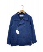 JULIEN DAVID(ジュリアンデイヴィッド)の古着「Pコート」|ブルー