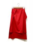 ()の古着「スカート」|レッド