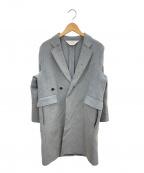 SUNSEA()の古着「チェスターコート」|グレー