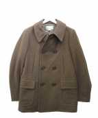 RRL(ダブルアールエル)の古着「Wool Twill Pea Coat」|カーキ