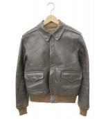 THE REAL McCOYS(リアルマッコイズ)の古着「A-2フライトジャケット」|ブラウン