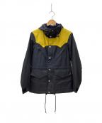 MARKAWARE(マーカウェア)の古着「オイルドジャケット」|ネイビー×イエロー