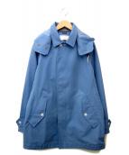 nanamica(ナナミカ)の古着「ステンカラーコート」|スカイブルー