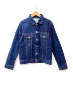 YAECA(ヤエカ)の古着「デニムジャケット」|ネイビー