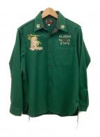 テーラー東洋(テーラートウヨウ)の古着「シャツジャケット」 グリーン