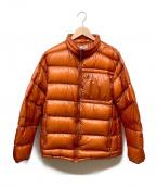NANGA(ナンガ)の古着「ライトダウンジャケット」|オレンジ