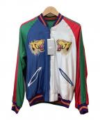 BEAMS(ビームス)の古着「リバーシブル刺繍ブルゾン」 マルチカラー