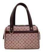 ()の古着「ミニボストンバッグ」|ピンク