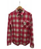 Ron Herman(ロンハーマン)の古着「ネルシャツ」|ピンク