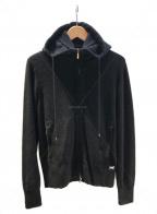 Cruciani(クルチアーニ)の古着「カシミアパーカー」|ブラック
