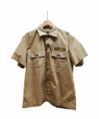 Buzz Ricksons(バズリクソンズ)の古着「ベトナムシャツ」|カーキ