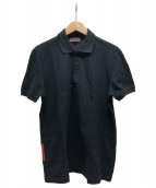 PRADA SPORTS(プラダスポーツ)の古着「ポロシャツ」|ブラック