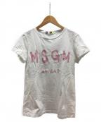 MSGM(エムエスジーエム)の古着「Tシャツ」 ホワイト