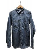 orSlow(オアスロウ)の古着「デニムシャツ」 スカイブルー