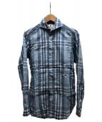 giannetto(ジャンネット)の古着「シャツ」|スカイブルー