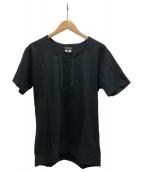 COMME des GARCONS HommePlus(コムデギャルソンオムプリュス)の古着「Tシャツ」|ブラック