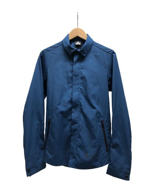 NIKE(ナイキ)NIKE (ナイキ) ナイロンジャケット ブルー サイズ:XSの古着・服飾アイテム