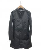 無印良品(ムジルシリョウヒン)の古着「ステンカラーコート」|ブラック