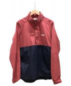 UNDEFEATED(アンディフィーテッド)の古着「ナイロンパーカー」|レッド×ネイビー