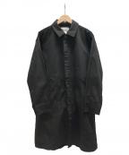kelen(ケレン)の古着「バルカラーコート」 ブラック