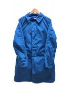 THE NORTH FACE(ザノースフェイス)の古着「ステンカラーコート」|ブルー