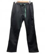 GRAMICCI×BEAMS(グラミチ×ビームス)の古着「ボンディングニットフリースナローパンツ」 ブラック
