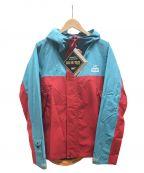 CHUMS(チャムス)の古着「スプリングデールゴアテックスジャケット」 レッド×ブルー