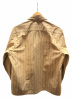 BLUCO WORK GARMENT (ブルコワークガーメント) シャツ ブラウン サイズ:M ストライプ:7800円