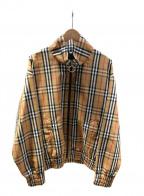 BURBERRY()の古着「ジップアップジャケット」|ブラウン