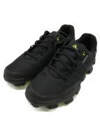 adidas(アディダス)の古着「ゴルフシューズ」 ブラック×グリーン