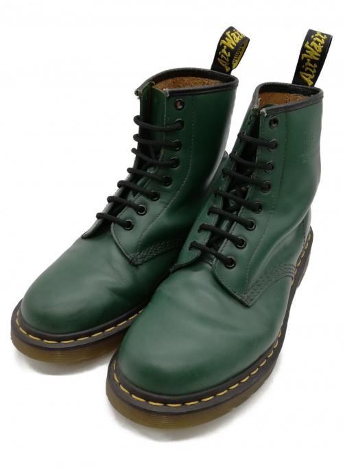 Dr.Martens(ドクターマーチン)Dr.Martens (ドクターマーチン) 8ホールブーツ グリーン サイズ:UK6 1460 11822207の古着・服飾アイテム