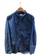 SONTAKU(ソンタク)の古着「シャツジャケット」 ネイビー