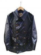 Sealup(シーラップ)の古着「ナイロンPコート」|ネイビー