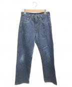 LEVI'S(リーバイス)の古着「サスペンダーボタン デニムパンツ」|インディゴ