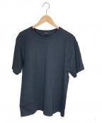 COMOLI(コモリ)の古着「空紡天竺半袖クルーTシャツ」|ブラック